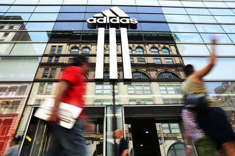Adidas, the German sporting goods manufacturer, routinely ranks high in sustainability assessments.Credit Spencer Platt/Getty Images