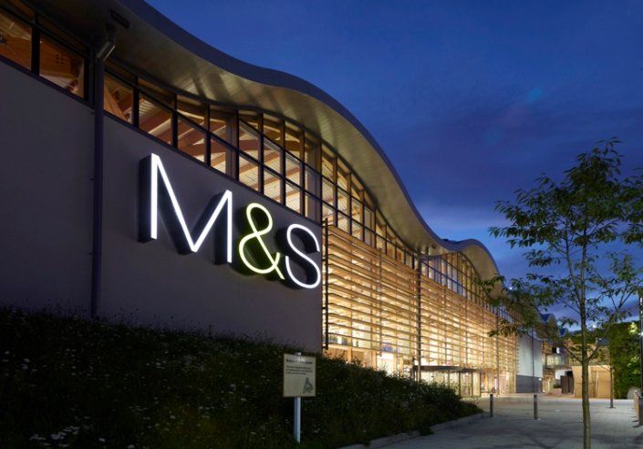 Marks and Spencer store small