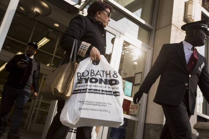 Under the Canopy, a fashion and home brand, sells some Fair Trade Certified items at Bed Bath & Beyond. Photo: Michael Nagle/Bloomberg News