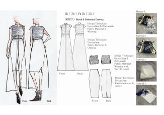 Deconstructing the design. Image credit: Redress