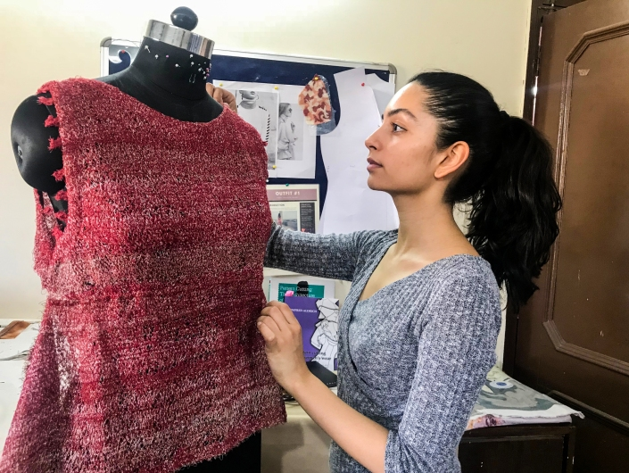 Seerat Virdi_Redress Design Award 2018_Work in Progress_1